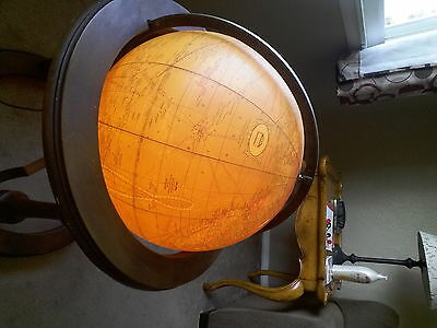 butler antique floor globe