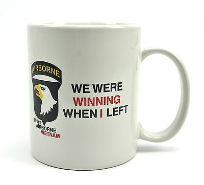We Were Winning When I Left - 101st Airborne Vietnam Vet Coffee Mug