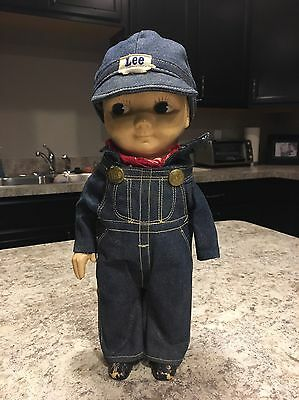 Vintage BUDDY LEE Doll LEE JEANS RailRoad Conductor Advertising Collectible