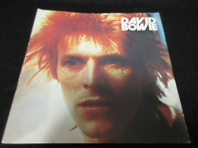 David Bowie 1973 Japan Tour Book Glam Rock Concert Program Mick Ronson