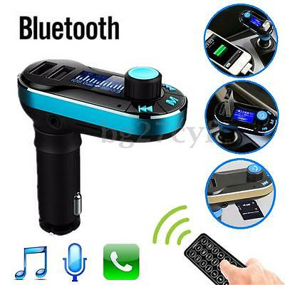 Wireless Bluetooth Car Kit MP3 Player FM Transmitter SD USB Charger AUX 3.5mm