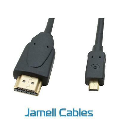 0.5m Micro HDMI Type D to HDMI A Cable
