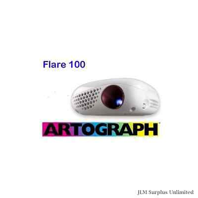 Flare100 Digital Art Projector Size Inches Color Image Control Battery Remote