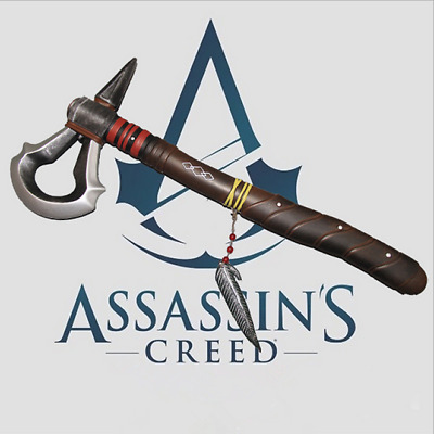 Assassins Assassin's Creed III 3 Connor Kenway Tomahawk AXE Axt Cosplay Kostüm