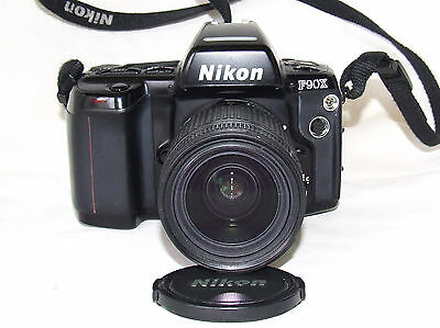 Nikon F90X 35mm Film Camera with a Nikon 28-80mm Lens & Optex Zoom Plus Bag