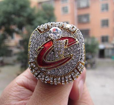 2016 CLEVELAND MVP CAVALIERS BASKETBALL CHAMPIONSHIP RING Solid Fan Gift