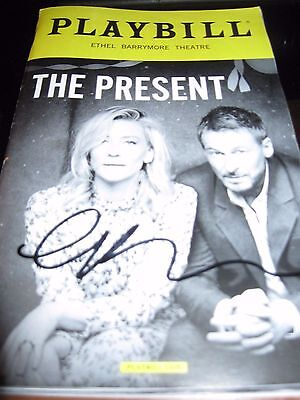 The Present Broadway Playbill Autographed by Cate Blanchett RARE !!!!