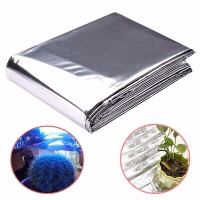 82x47 Inch Silver Plant Reflective Film Grow Light Accessories Greenhouse Reflec