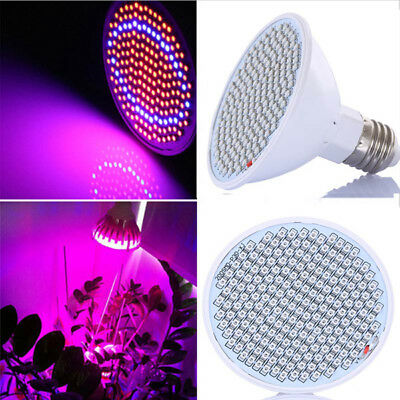 20W E27 166 Red 34 Blue LED Grow Light Plant Lamp Bulb Garden Greenhouse Plant S