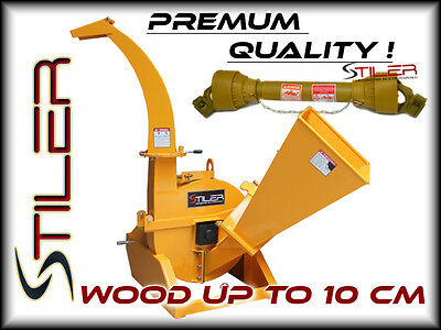Tractor Pto Wood Chipper Stiler Bx42S Limited-Quantity Promo!!