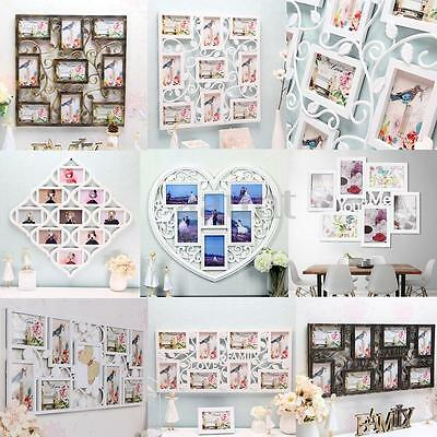 8 Types Photo Frames Hanging Family Love Collage Picture Aperture Wall Decor