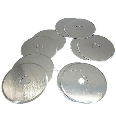 1/5/10/20pcs 45mm Rotary Cutter Blades Quilters Sewing Fabric Craft Vinyl Paper
