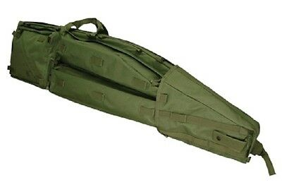 CONDOR US Rifle Sniper Drag Bag Case Army Military Waffentrage Tasche Oliv Green