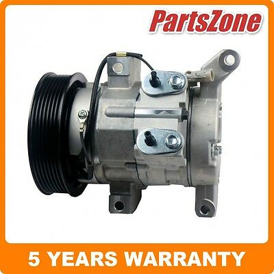 Air Conditioning AC Compressor Fit For Toyota Hilux Workmate TGN16R 2.7L 2TRFE