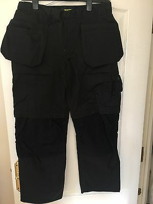 Blaklader Work Trousers - Black - size D96 (36W X29L)