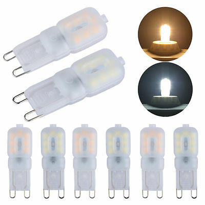 Liqoo 10 x G9 LED Bulb 3W Equivalent to 25W Incandescent Lamp 360 Degree Beam