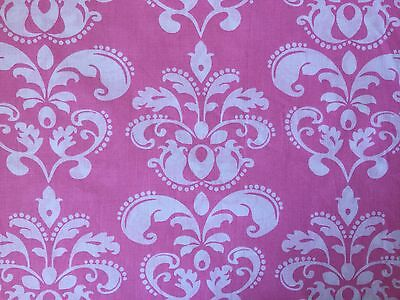 Baby Pink FQ Fat Quarter Fabric Damask Patterns  100% Cotton Quilting RARE