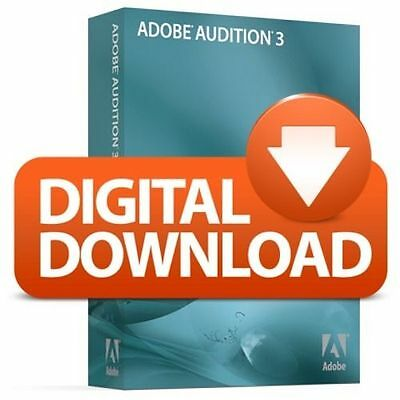 Adobe Audition 3.0 Audio Editing Software (Download)