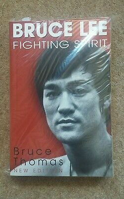 Bruce lee fighting spirit. Brand new thick book by bruce Thomas. New Edition