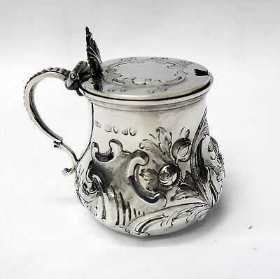 Victorian Silver Mustard Pot 1852 George Richards stock id 5577