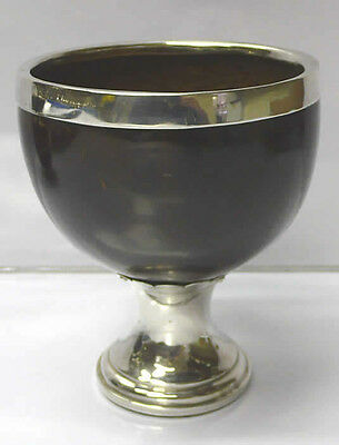 Antique Silver Coconut Cup 1800 stock id 6955