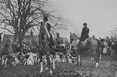 The Victory Meet Oakham Rutland Boxing Day 1919 Photo 6x4