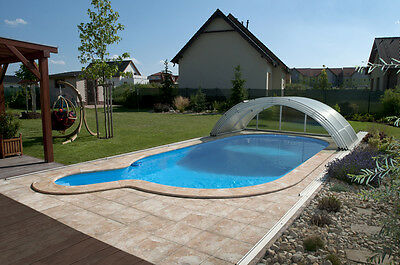 Swimming Pool Telescopic Enclosure Building by UK Company