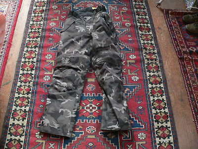 spada flage motorcycle trousers NWT size S camo camouflage motorbike pants