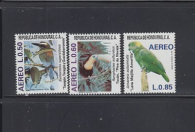 Honduras 1987 Birds Sc C758-C760  Mint Never Hinged