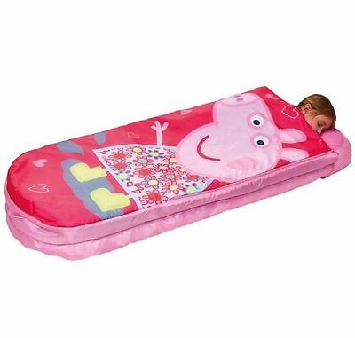 NEW Peppa Pig Readybed Kids Inflatable Sleepover Bed Includes Pump & Bag