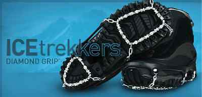 Icetrekkers Diamond-XL(Traction Devices)Ice Fishing*Hunting*Hiking*Shoe*Boot