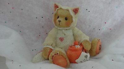 Cherished Teddies YOU'RE THE CATS MEOW. FIGURINE..