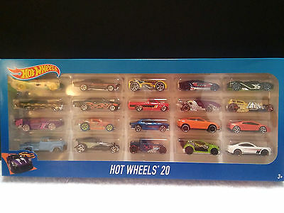Hot Wheels 20 Car Gift Pack Boys Toy Cars
