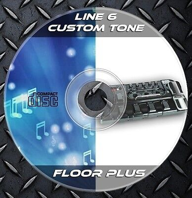 11.258 Patches Line6 Pod floor plus .Multi Effects Processor. Custom Tone