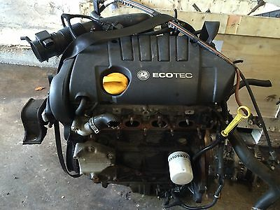 VAUXHALL ASTRA  Vectra 1.8 Z18XE Complete ENGINE 77k