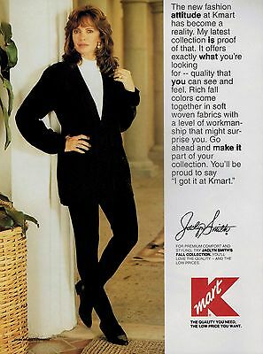 1993 JACLYN SMITH for Kmart   FASHION Magazine  PRINT AD