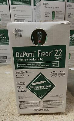 R-22 Dupont Freon Refrigerant 30 lb Can. Factory sealed