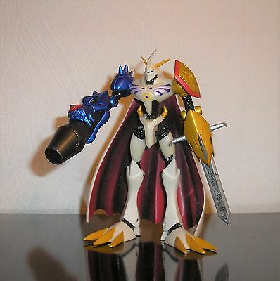 Digimon Omnimon Figur 14,5cm Omegamon Wargreymon Metallgarurumon Movie Film