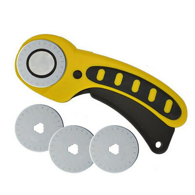 Rotary Cutter Replacement Blades Roller Cutter Blade Sewing Cutting 45MM