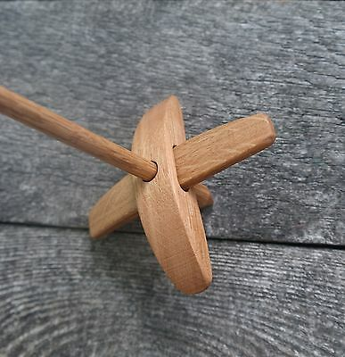 Small Turkish Spinning Spindle from Oak