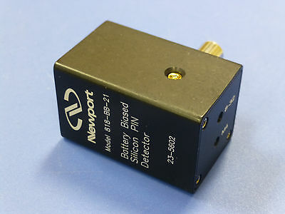 Newport 818-BB-21 High-Speed Battery Biased Silicon Photo Detector