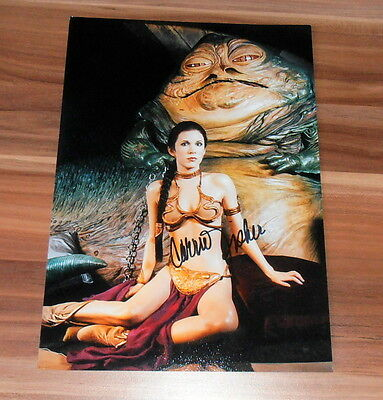 Carrie Fisher (†) *Leia Organa - Star Wars*, original signed Photo 20x25 (8x10)