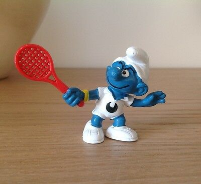PUFFO PUFFI SMURF SMURFS PROMOTIONAL UHL SPORT 2.0049 20049 tennis player