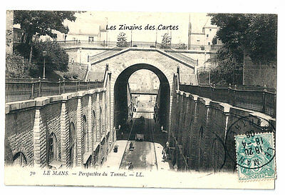 Carte Postale Ancienne | Le Mans (72) - Perspective du Tunnel