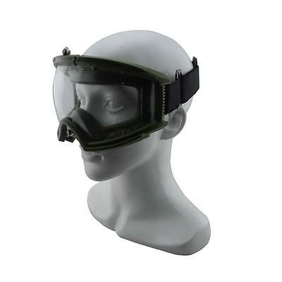 Airsoft Paintball Ez Fit Tactical Military Goggles Olive Drab