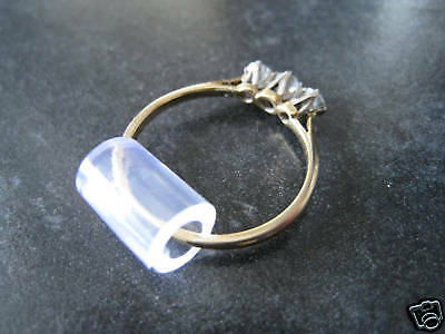 Ring Snuggies,tubes,clips. Pack of five assorted. Makes Rings Smaller In Seconds