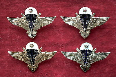 Russian Badges Military category of Airborne troops - M, 1, 2, 3, modern.