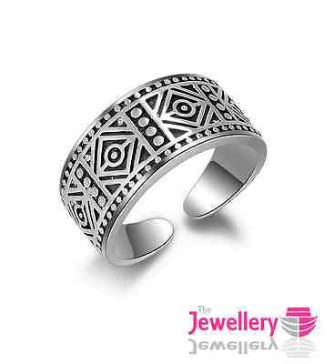 925 Sterling Silver 9mm Celtic Band Ring Jewellery Mens Womens Unisex Gifts Uk