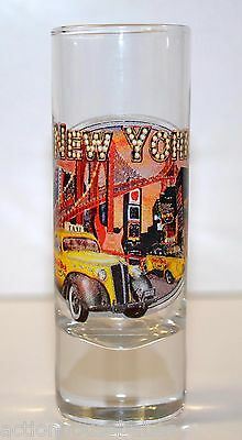 Shot Glass Shooter NEW YORK ( DESIGN OF 1940's CAR WITH HARD ROCK CAFE SIGN )