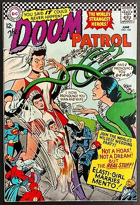 Doom Patrol 1966 #104 Fn Minus Wedding Issue With Mento +Justice League,